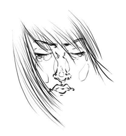 Sappho - weeps